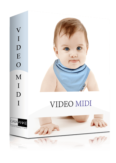pachet video botez midi